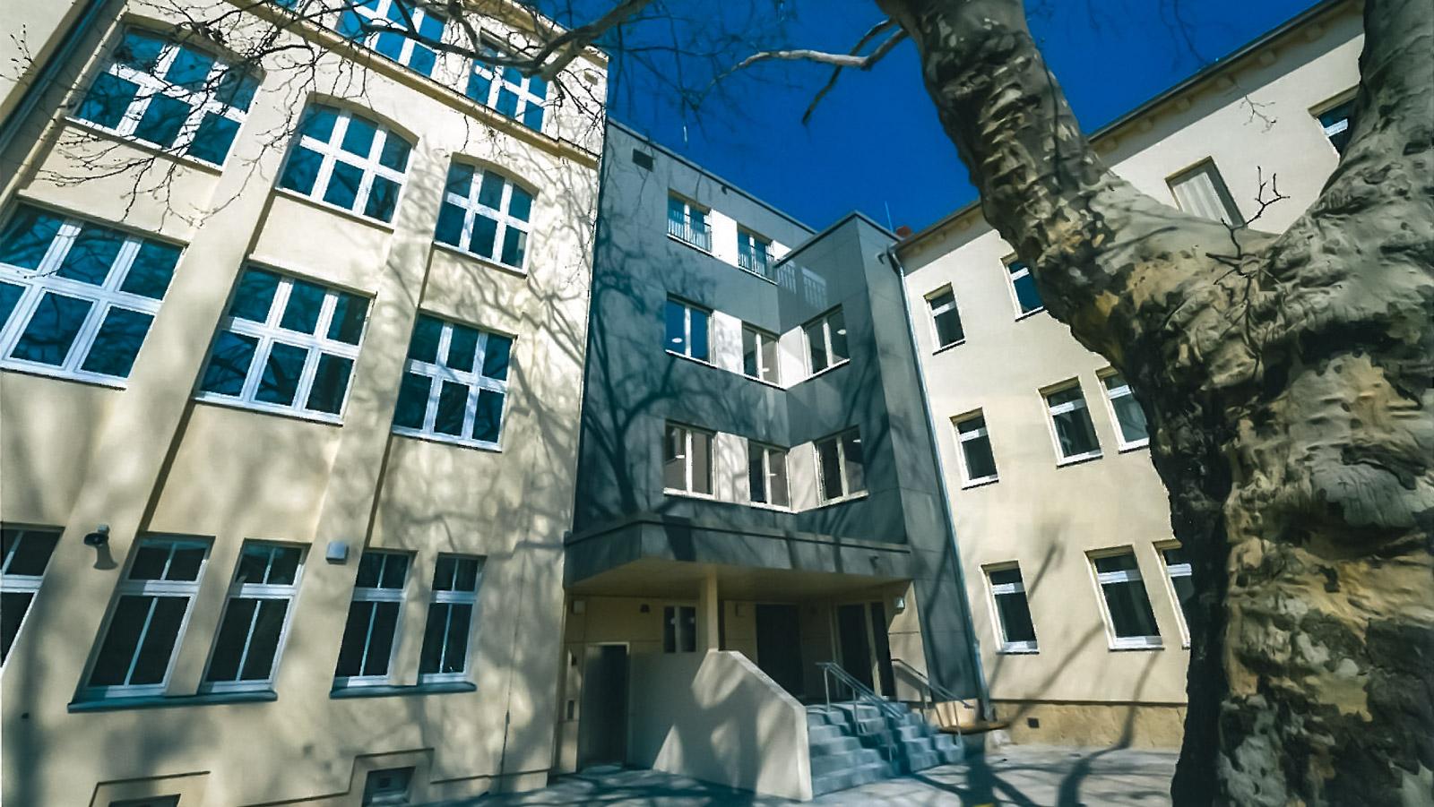 Sanierung 15. Grundschule, Dresden